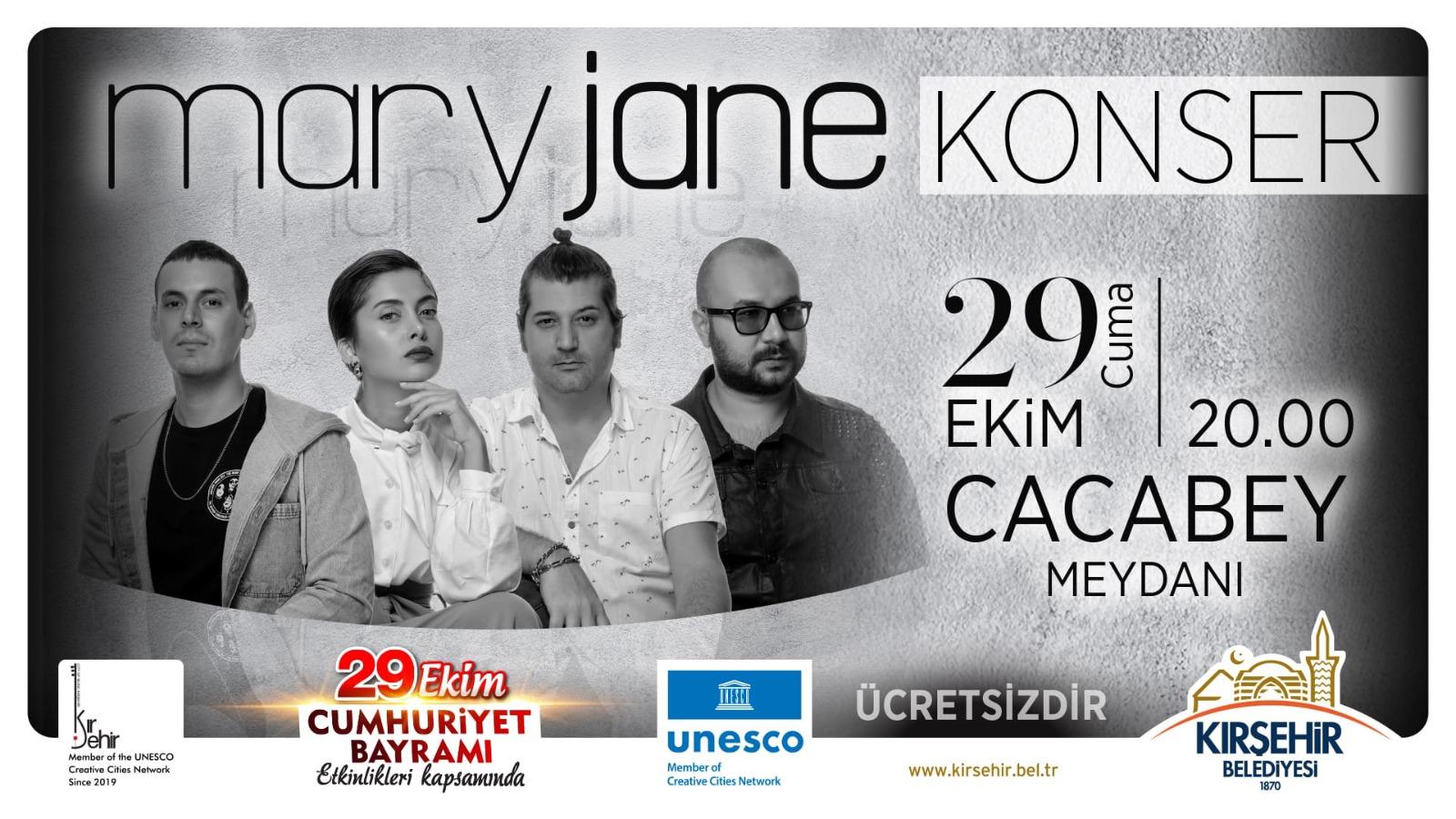 MARY JANE CUMHURİYET BAYRAMI KONSERİ